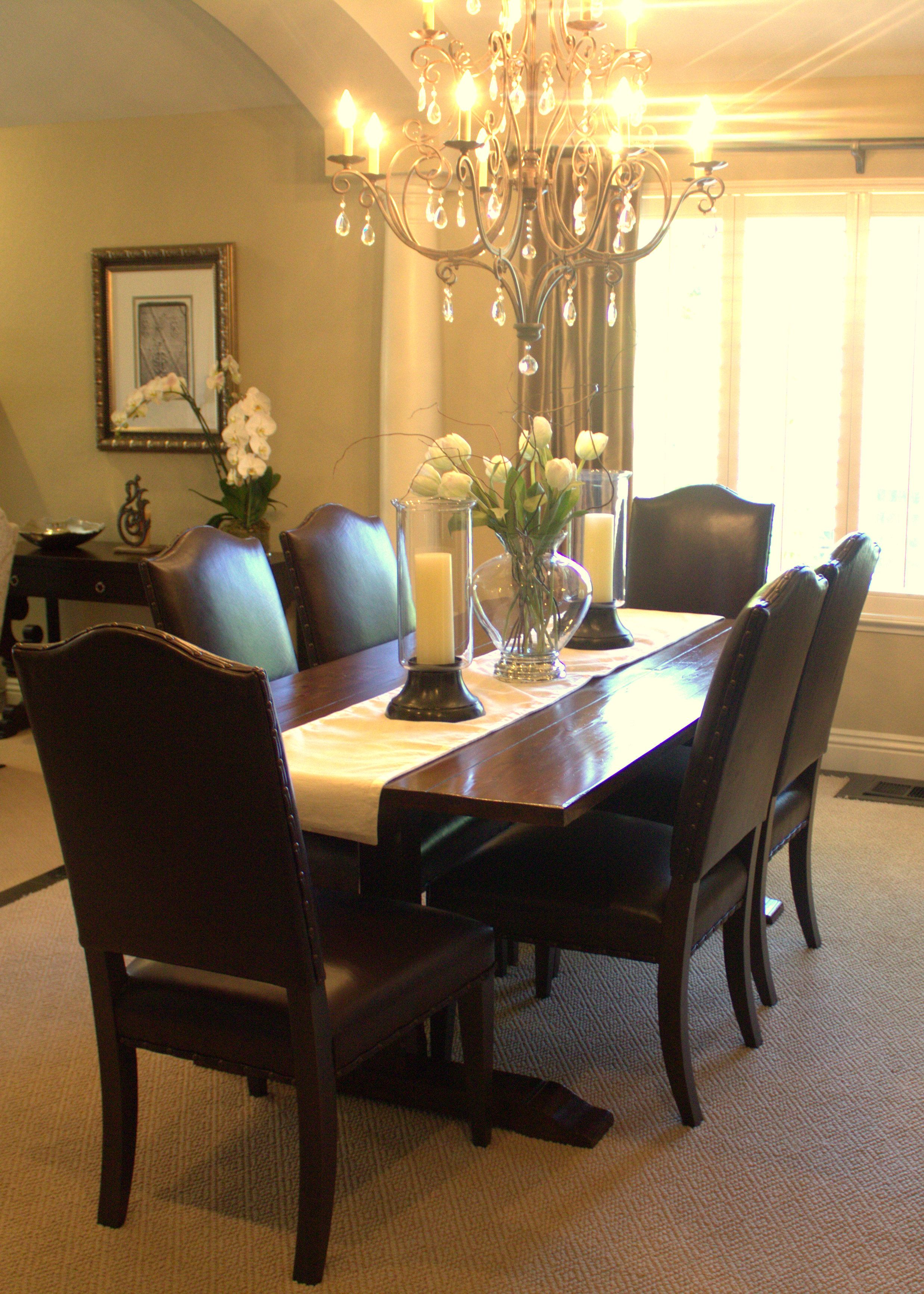 Interior Design And Photography Cindy Kirchubel Dining Room Table Centerpieces Formal Dining Room Table Decor Cheap Dining Room Table