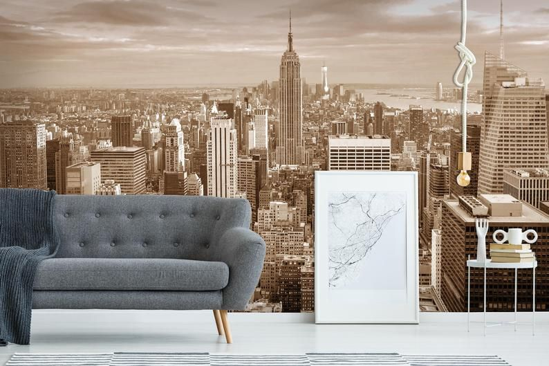 New York City Peel And Stick Wallpaper