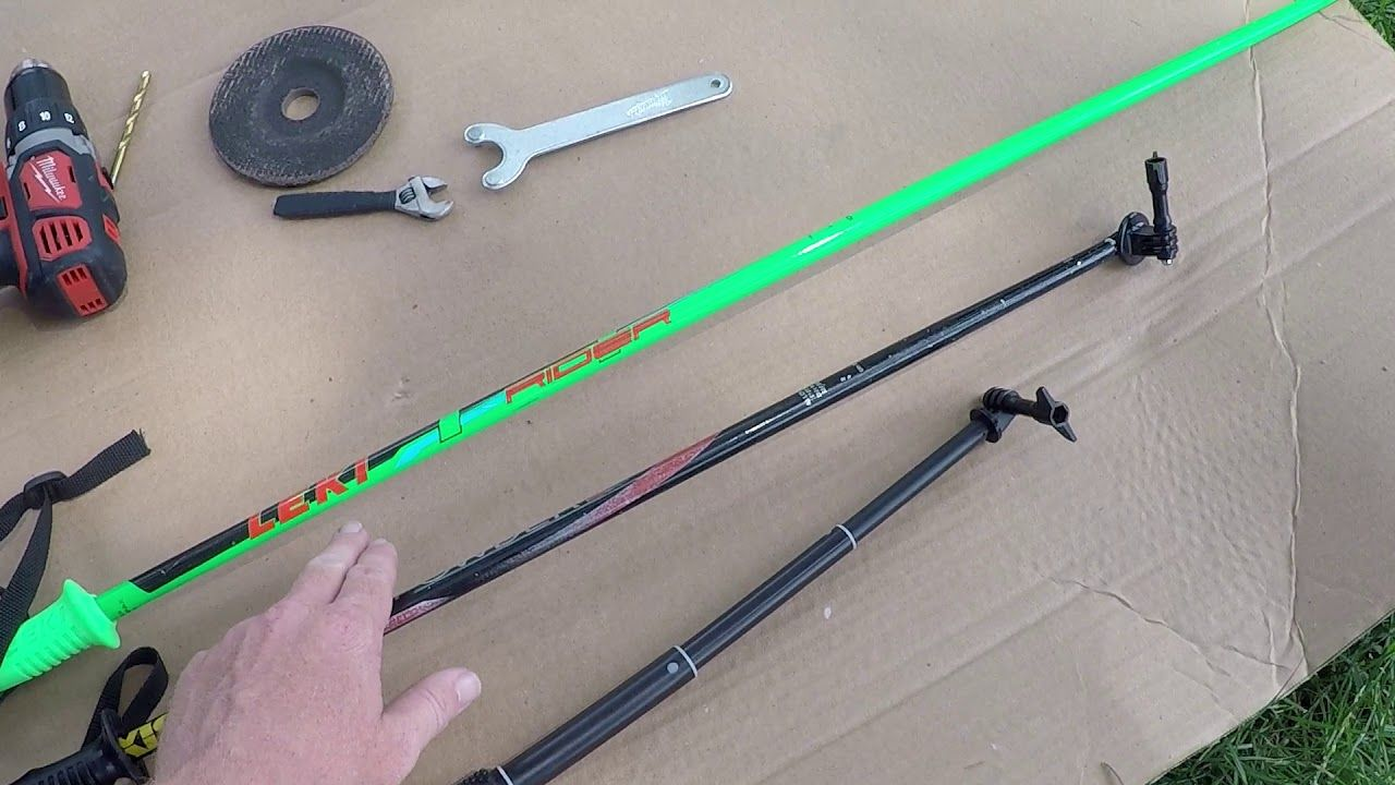 Here is my D.I.Y (Home Made) GoPro Ski Pole Selfie Stick I