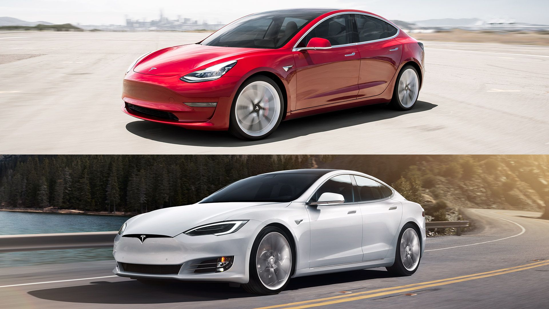 Ev Comparison Tesla Model S Versus Tesla Model 3 Tesla Model S