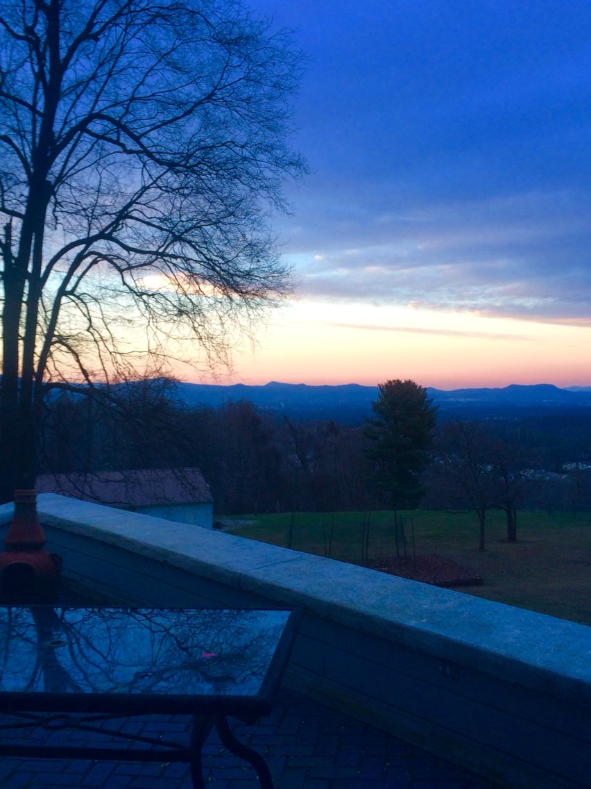 Winter sunset in Roanoke VA Roanoke, Winter sunset
