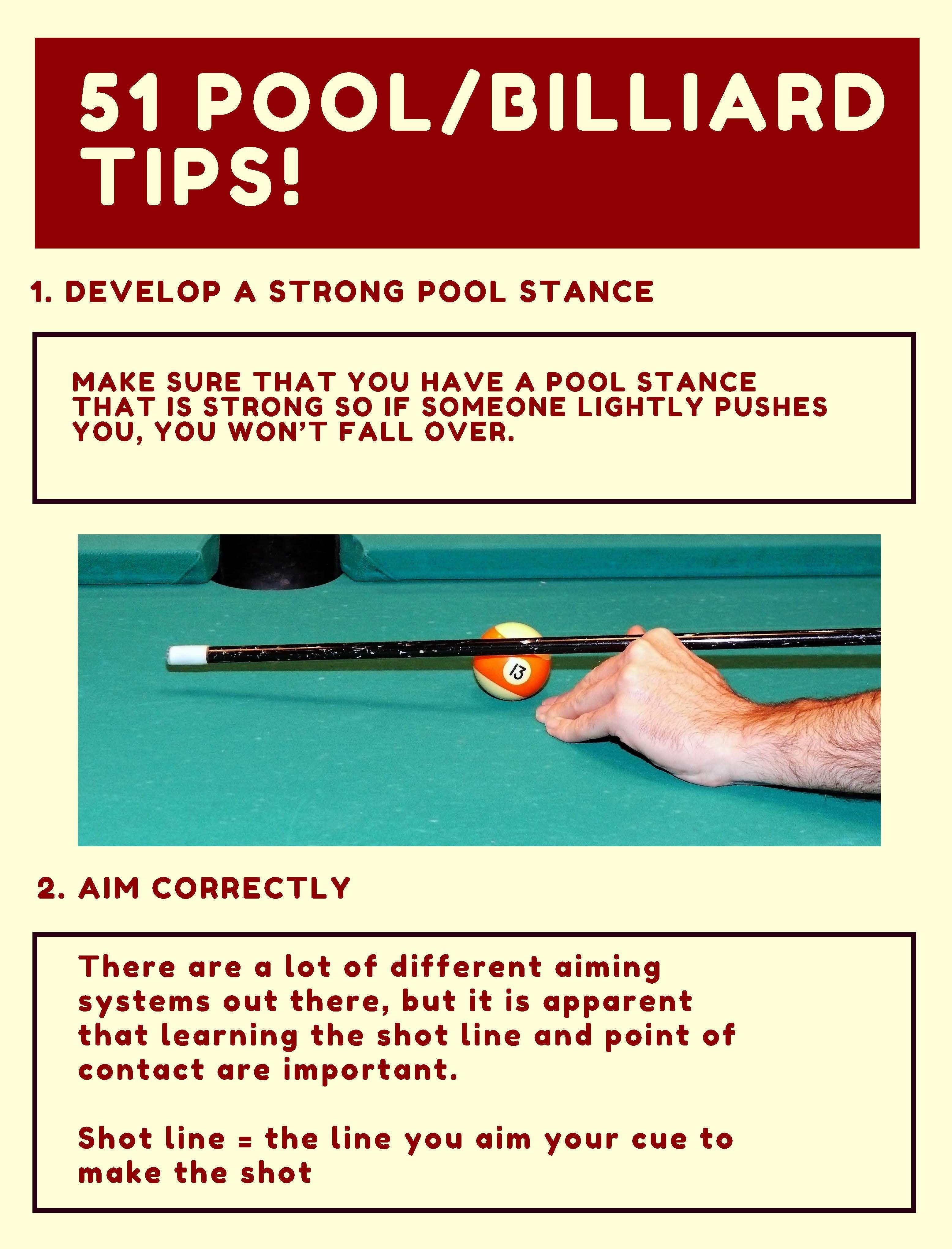 Tips Billiard : billiard, Pool/Billiard, Perfect, Beginners, Intermediate, Players!, Check, Detailed, Descriptions,, Pictures,, Exam…, 8ball, Pool,, Billiards,, Rules