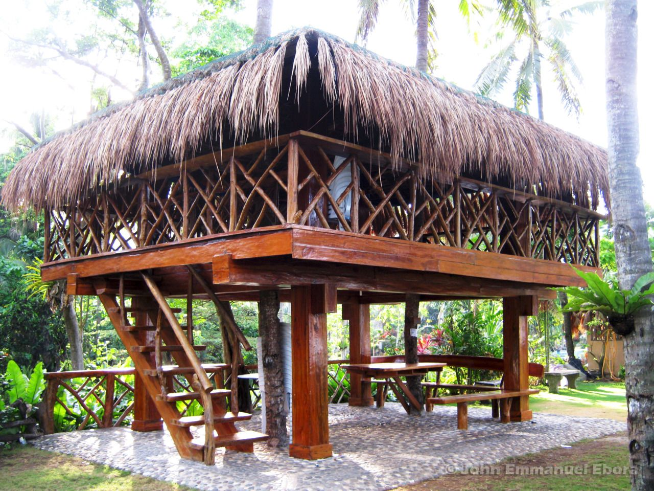 Simple Modern Native House Philippines House Design House Outside Design Bamboo House Design