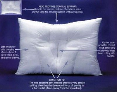 Top 10 Best Pillows For Severe Neck Pain - Therapeutic Sleeping Pillow For Neck Pain