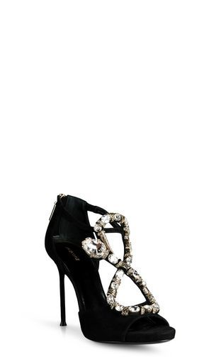 Sales Prices Womens Roberto Cavalli Bejewelled Stiletto Sandals Shop