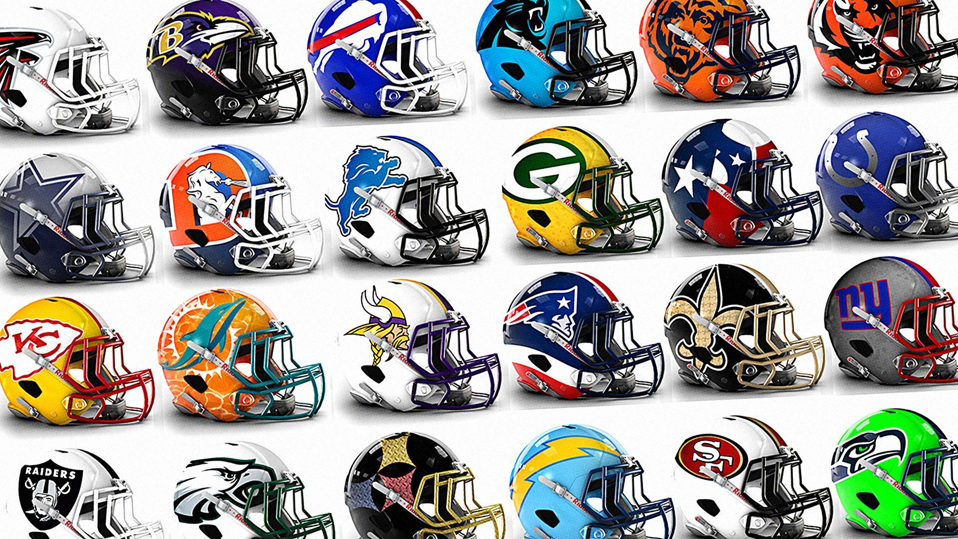 586eecb09 See Bold Alternate Helmet Designs For All 32 NFL Teams