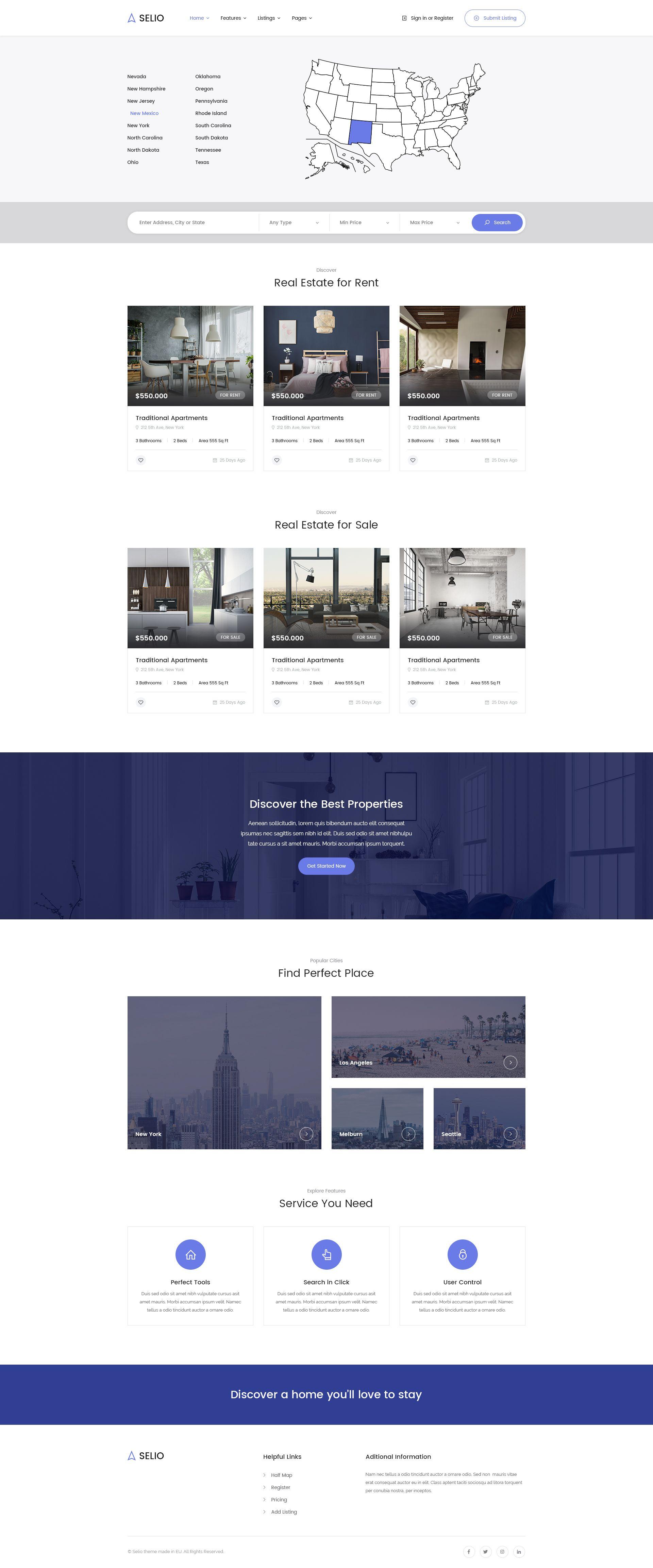 Selio - Real Estate HTML Theme #Real, #Selio, #Estate, #Theme