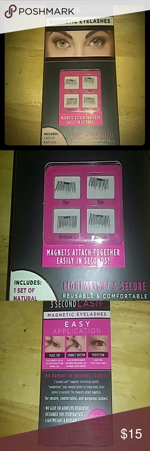 30second Lash lashes as seen on TV one set of
