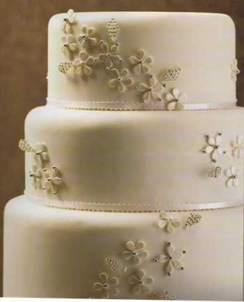 tortas de bodas sencillas de un piso - Buscar con Google tortas - bodas sencillas