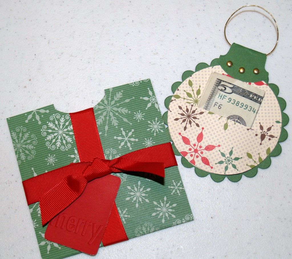 14 Creative Money Gift and Cash Gift Tutorials Christmas