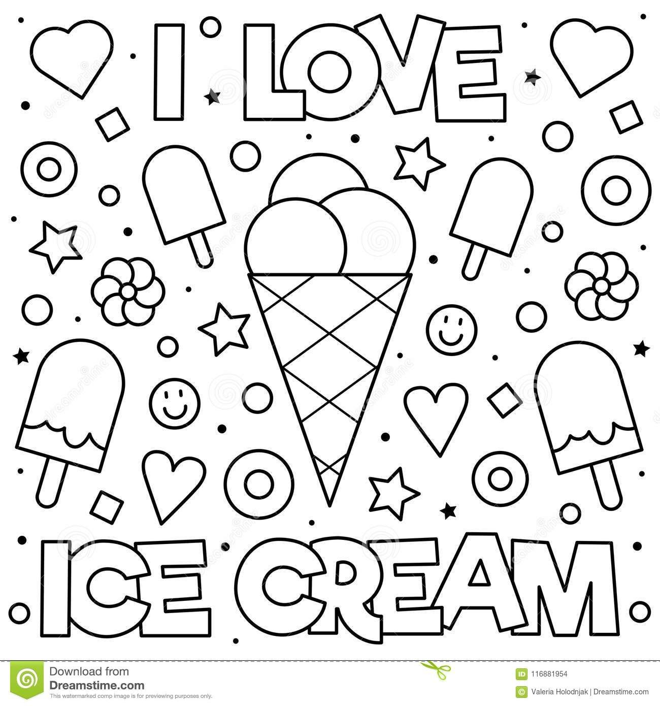 Image result for ice cream drawing i love ice cream | Free ...