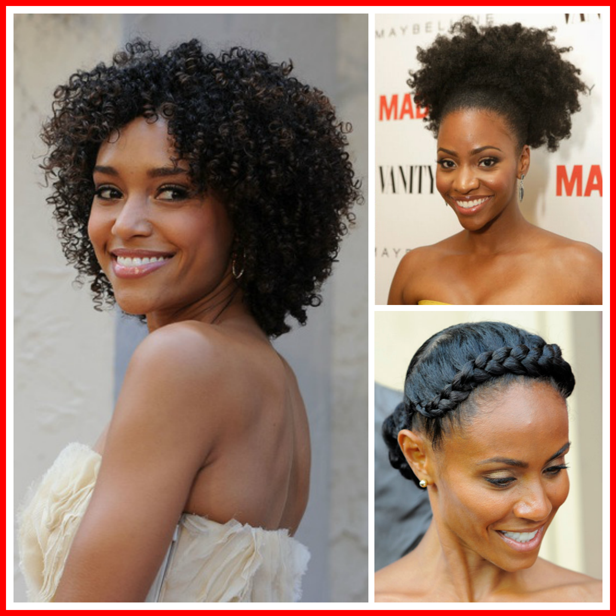 With The Sun Shining And The Weather Heating Up It S The Perfect Time To Throw Away Some Of The Not So F Hair Styles Prom Hair Medium Black Natural Hairstyles