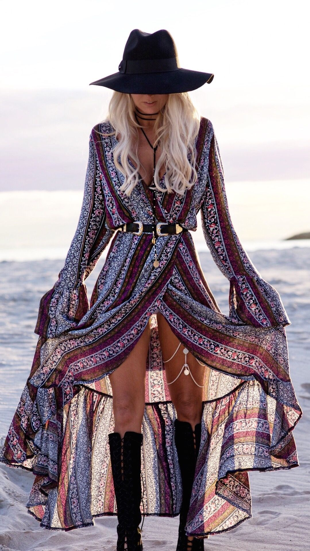 What is the boho style, and with what to combine it (photo options)