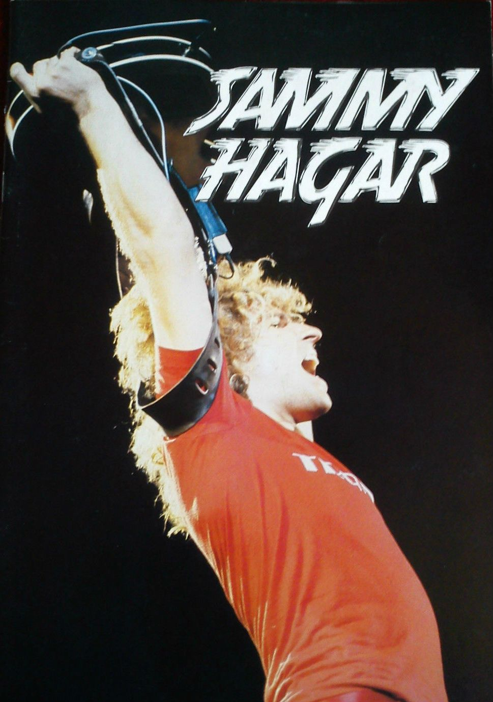 Sammy Hagar Tour Program Https Www Facebook Com Fromthewaybackmachine Sammy Hagar Van Halen Rock Videos