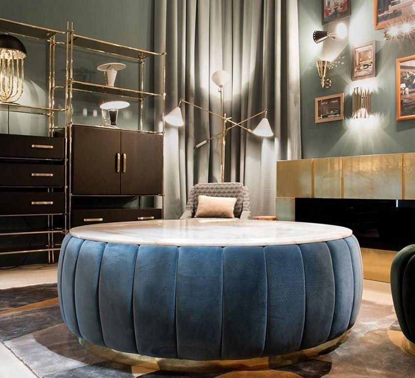 50 Modern Center Tables For Luxury Living Rooms - Atahiya ...