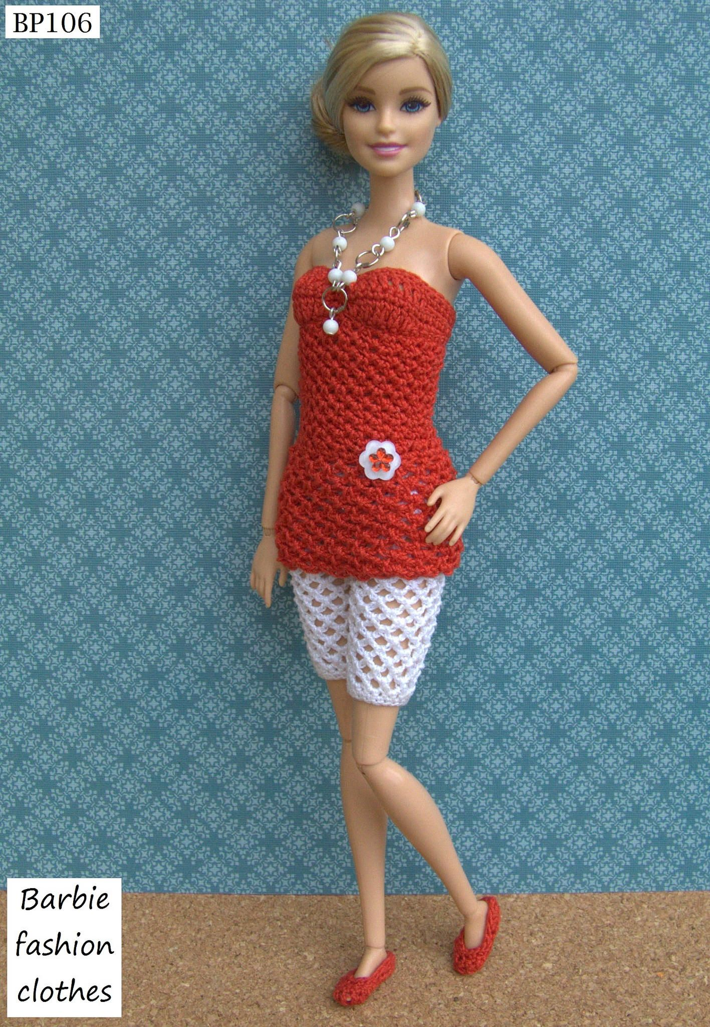 BP106 | Puppenkleidung, Barbie und DIY und Selbermachen