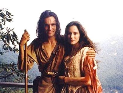 Daniel Day Lewis Madeline Stowe The Last Of The Mohicans Le Dernier Des Mohicans Actrice Image Film