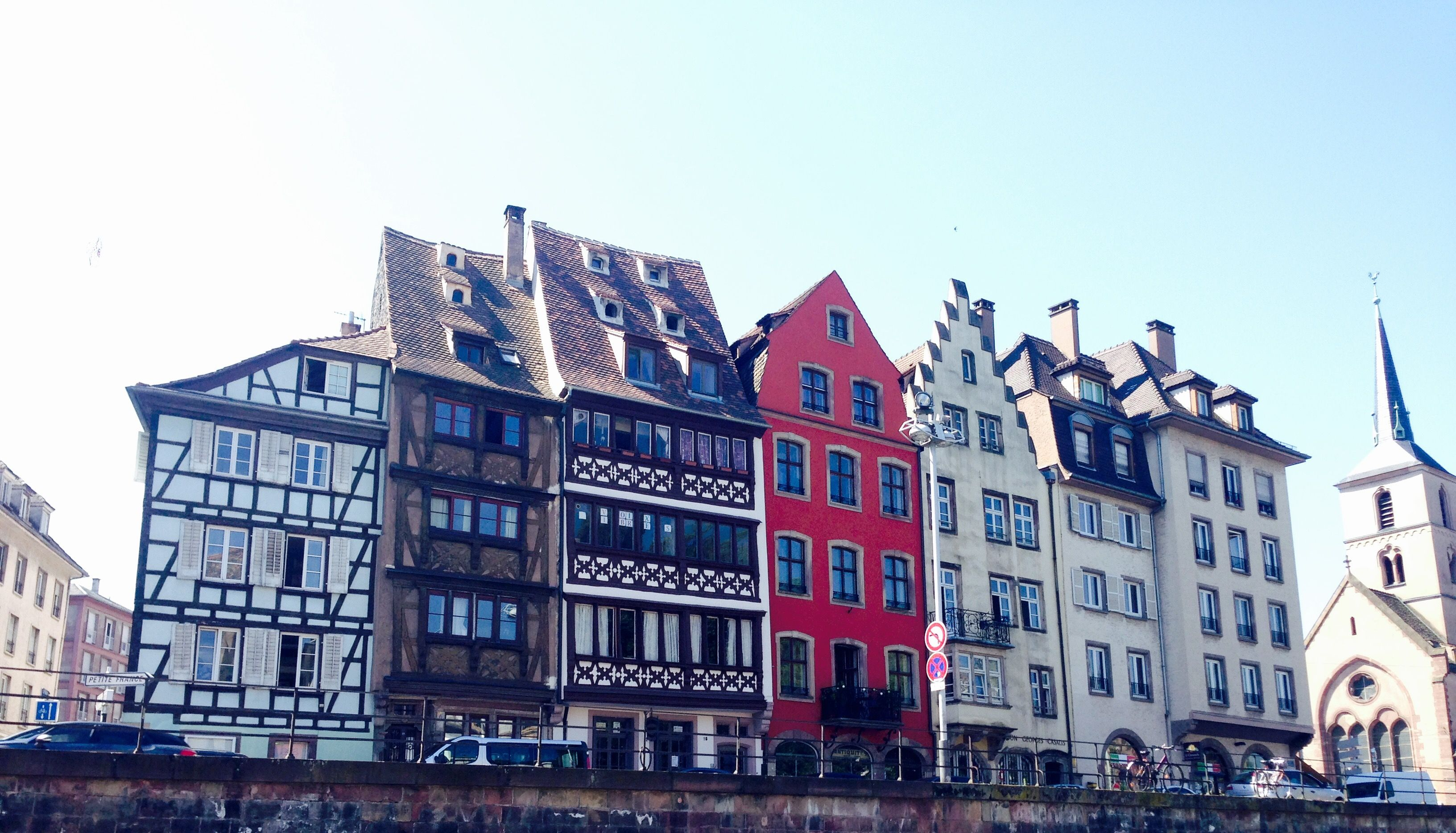 Strasbourg, des maisons à colombages