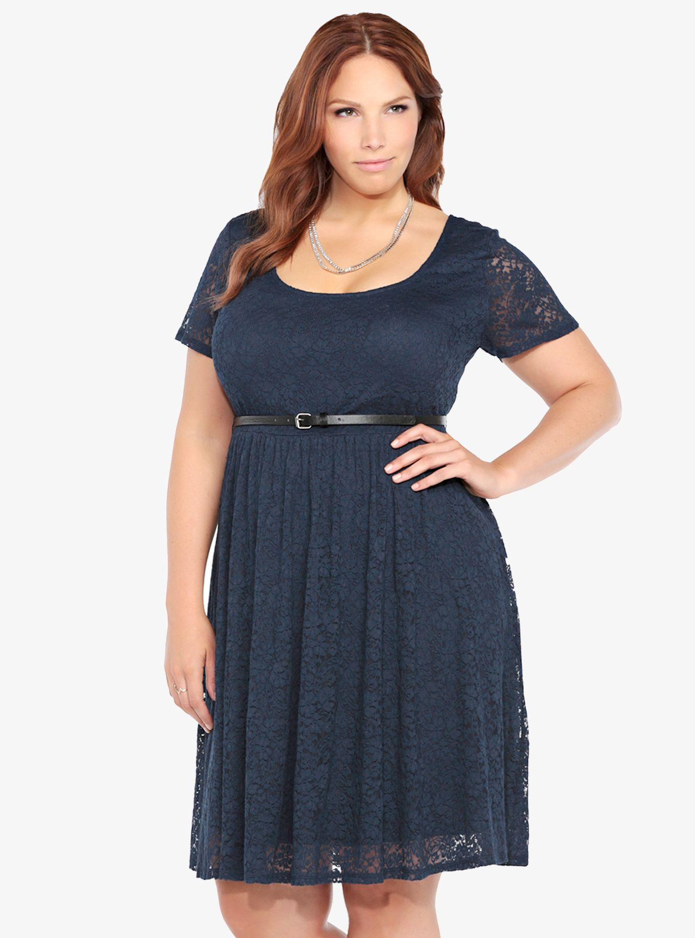 b9cfbbc0674 Size 3 and 4 No Belt. Belted Floral Lace Skater Dress