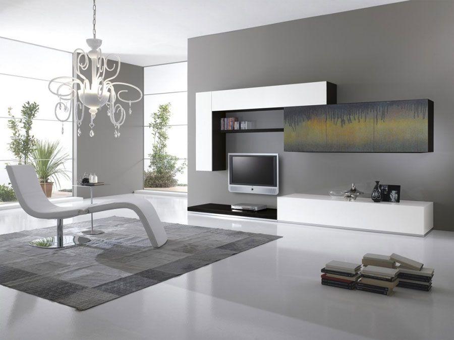 Pareti attrezzate in stile moderno n.62 | Wall unit | Pinterest ...