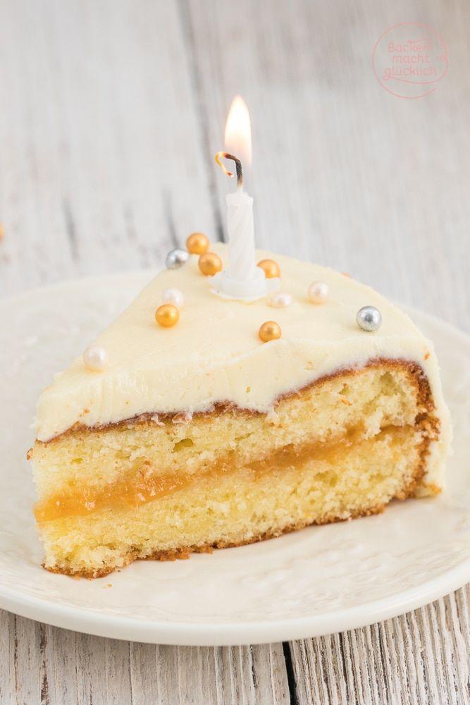 Geburtstagstorte Mit Weisser Schokolade Rezept Kuchen Pinterest