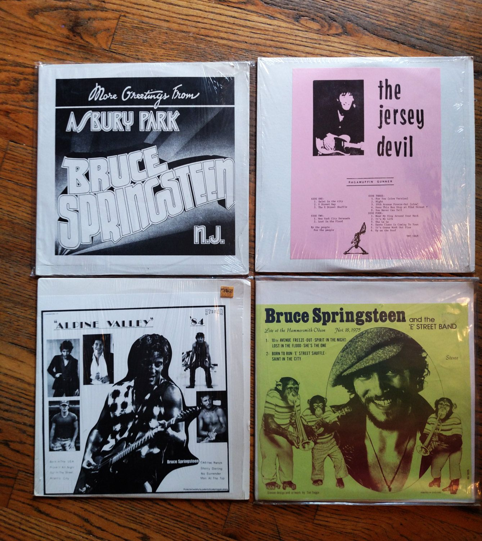 Bruce Springsteen Vinyl Unofficial Bootleg Live Album Lot Vg Rare Collectible L Bruce Springsteen Bruce E Street Band