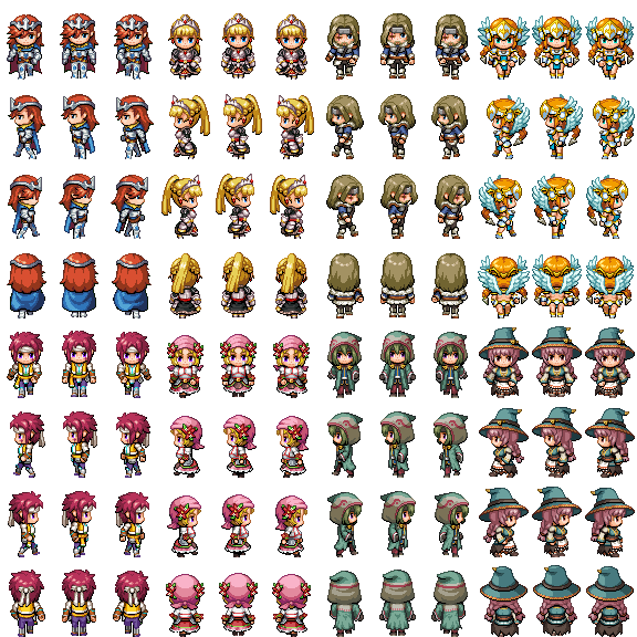 Actor3.png Tall Sprite Rpg maker, Sprite, Rpg maker vx