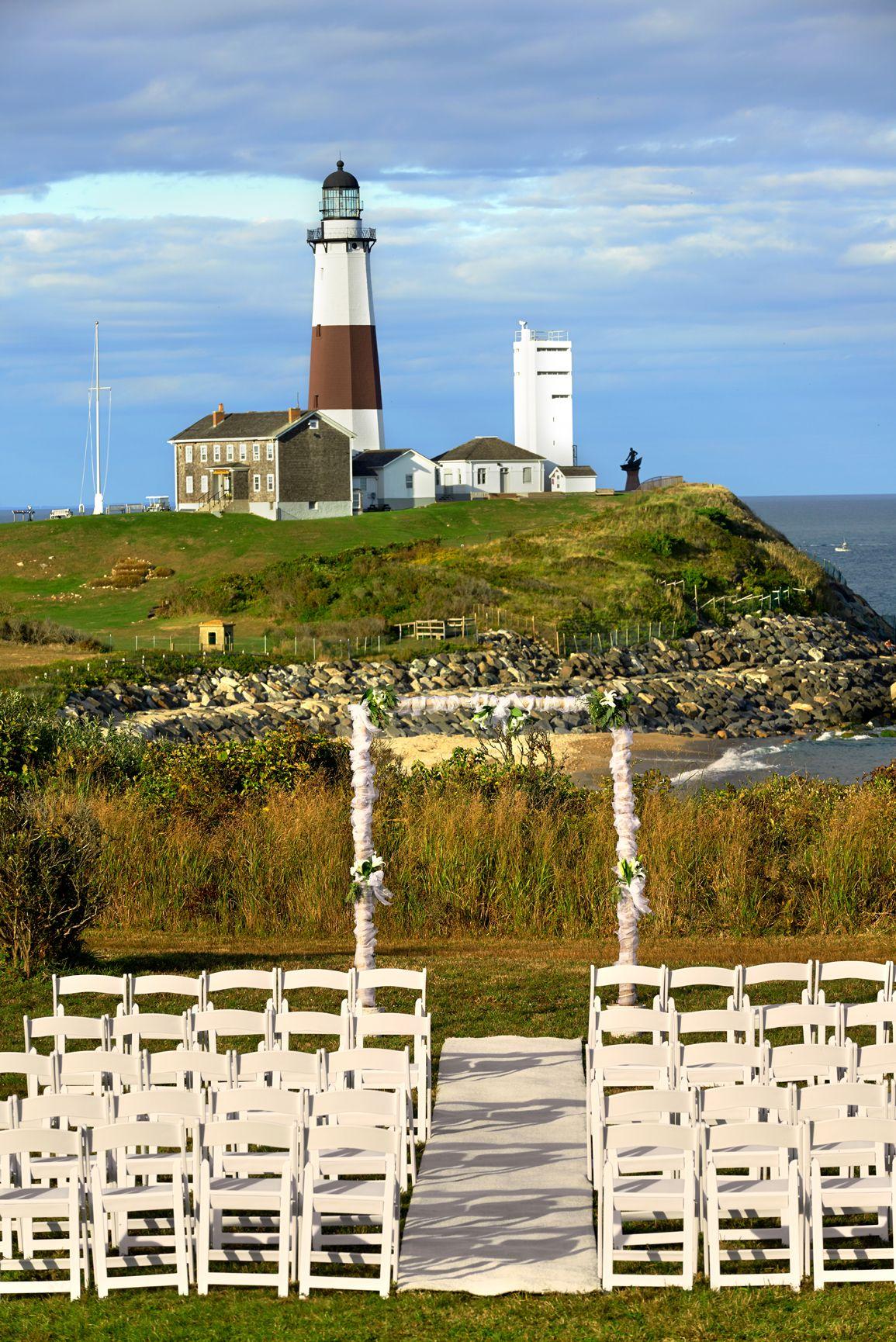 360 East Montauk wedding ceremony site Hamptons wedding