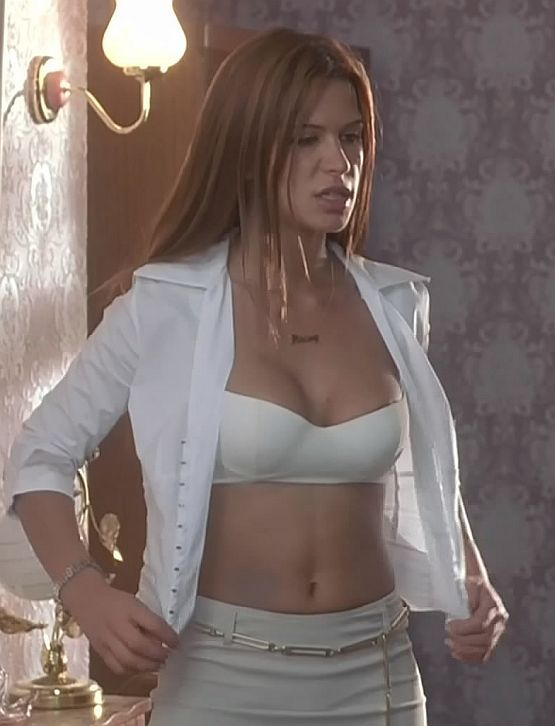 rhona mitra in pants