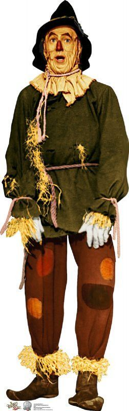 how to make a scarecrow costume wizard of oz