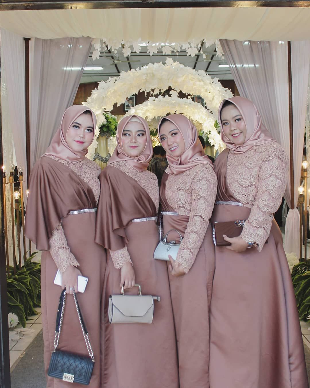 "Dress Gaun Bridesmaids Hijab on Instagram: ""from @ginarizkio"