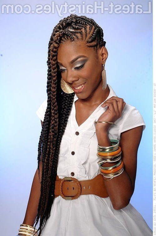 Braided Hairstyles For Black Girls braided hair style for black girls 17 Amazing Prom Hairstyles For Black Girls Within Black Teenage Braided Hairstyles The Most Elegant Black