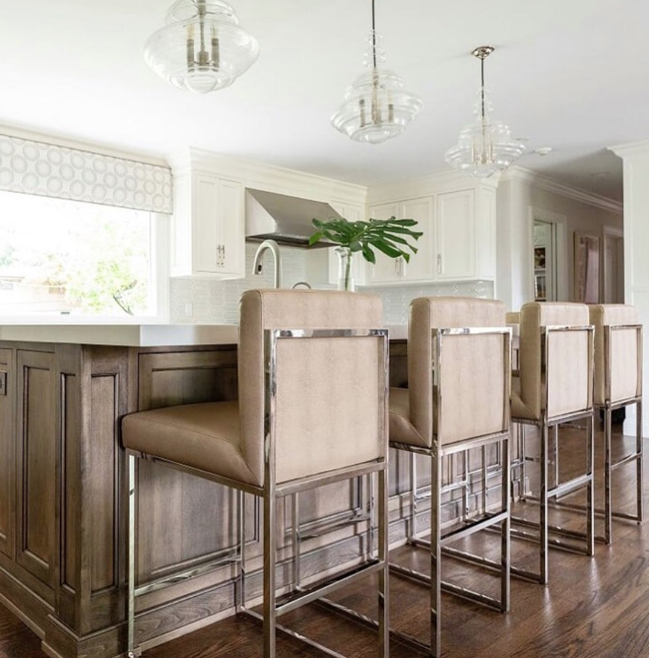Our Kingston Counter Stools Are A Lovely Addition To This Elegant