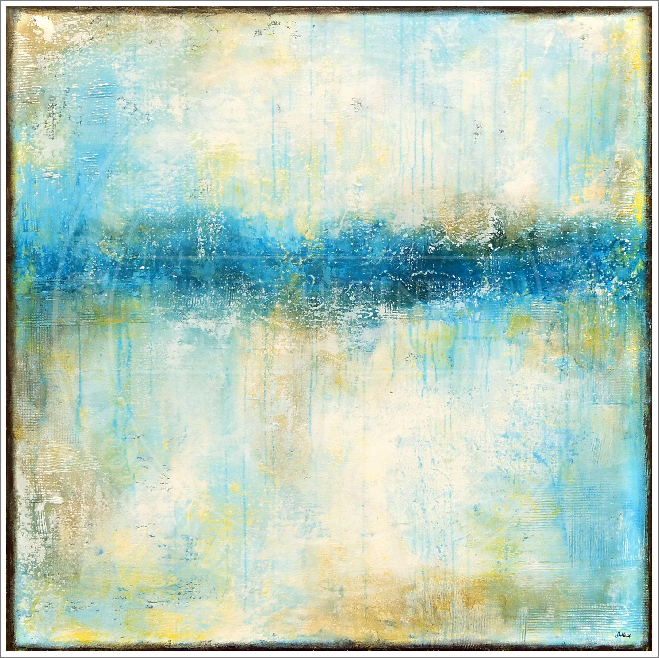 """bounty breeze"" acrylic on canvas by Stella Hettner"