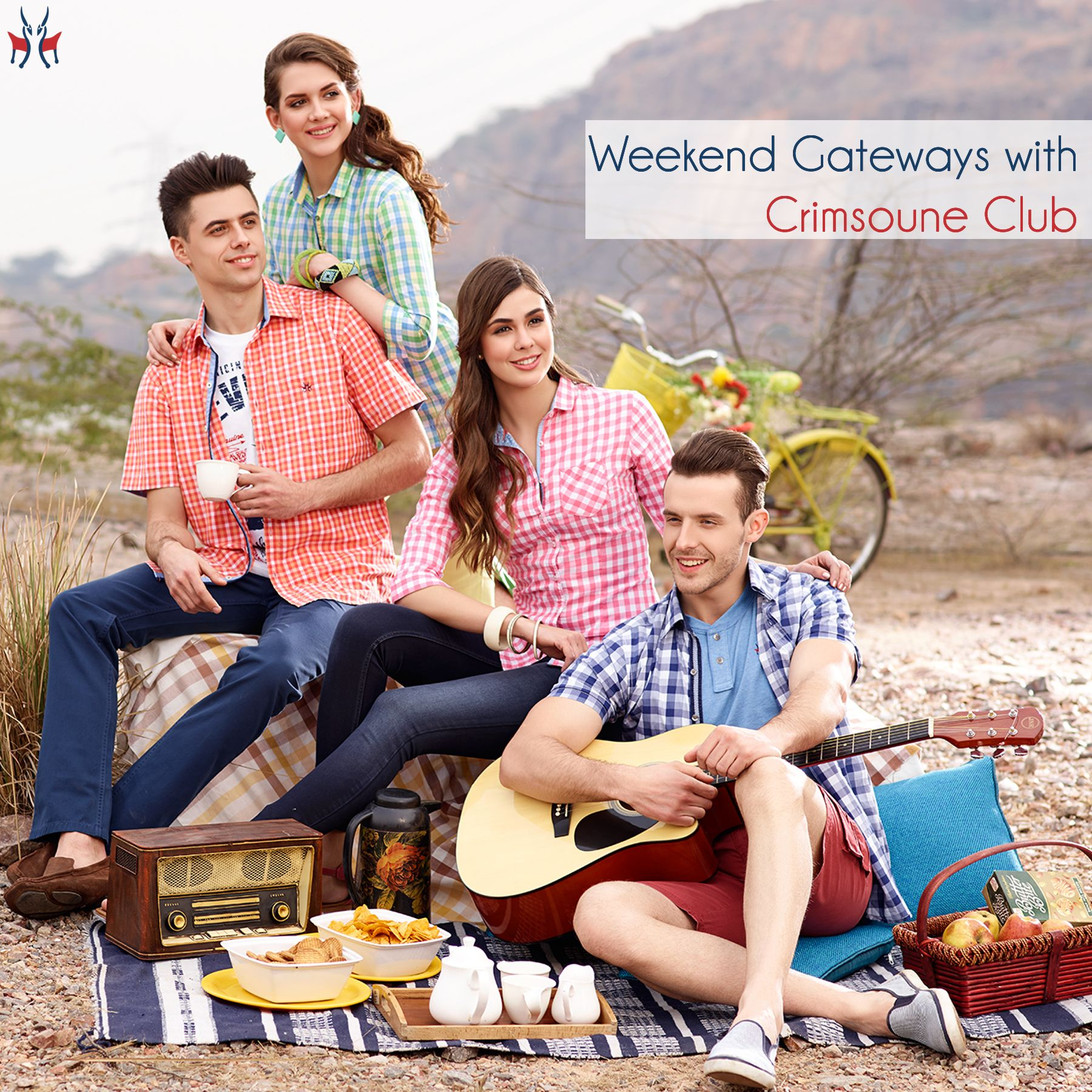 Enjoy Happy Weekend with Crimsoune Club | Casual wear for