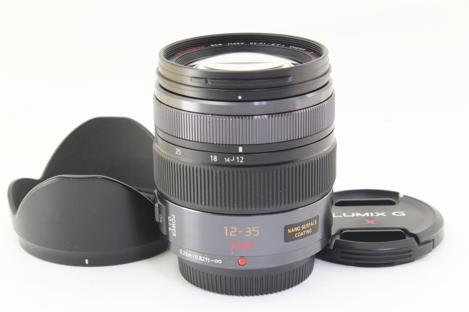 Excellent Panasonic Lumix G Vario 12 35mm F28 Power Ois For Micro X F 28 Asph H Hs12035e