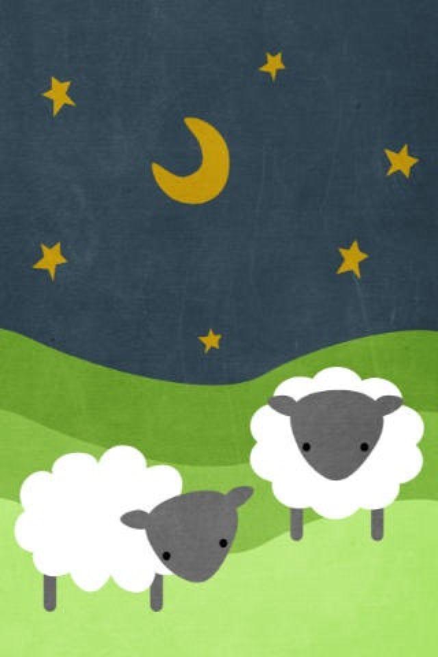 Sheep Wallpaper Sheep Illustration Cute Sheep Sheep Art