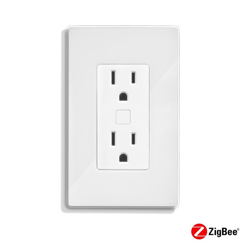 Quirky POTLK-WH02 Outlink Smart Wall Outlet with Energy Monitoring ...