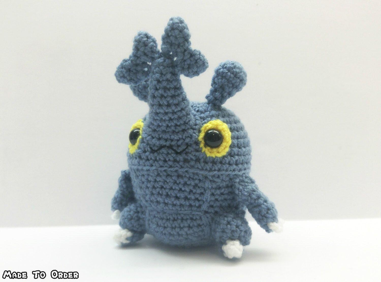 Crochet Heracross Inspired Chibi Pokemon   chibi amigurumi ideas ...