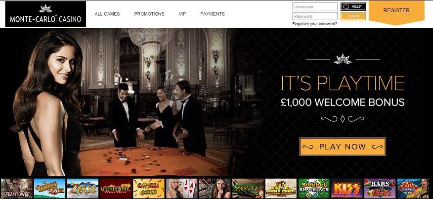 monte casino carlo online