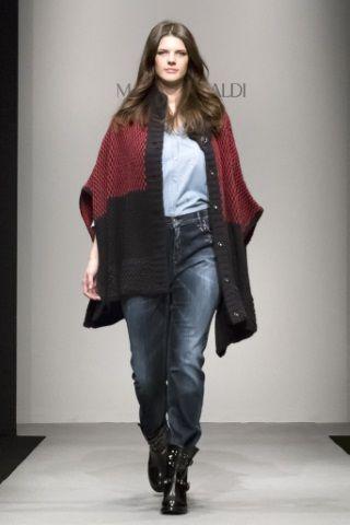 Sfilate Marina Rinaldi Collezioni Autunno Inverno 2014-15 - Sfilate Milano  - Moda Donna - Style.it 72fcb75db8e