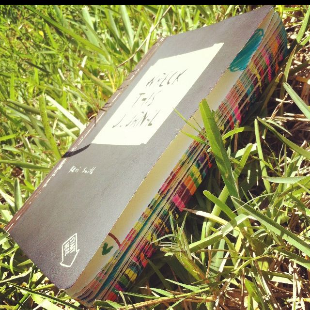 #WreckThisJournal #green #grass #cool #book #colors