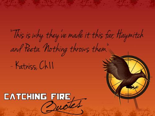 Peeta and Haymitch work so well together