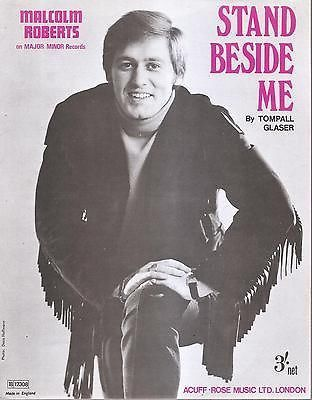 Sheet Music 1969 Stand Besides Me Malcolm Roberts 148