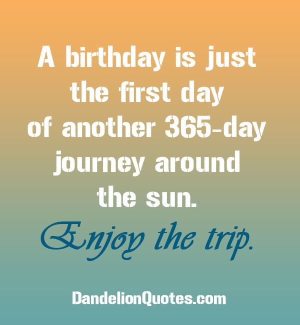 120 Original Birthday Messages Wishes Quotes: A Birthday Is Just The First Day Of