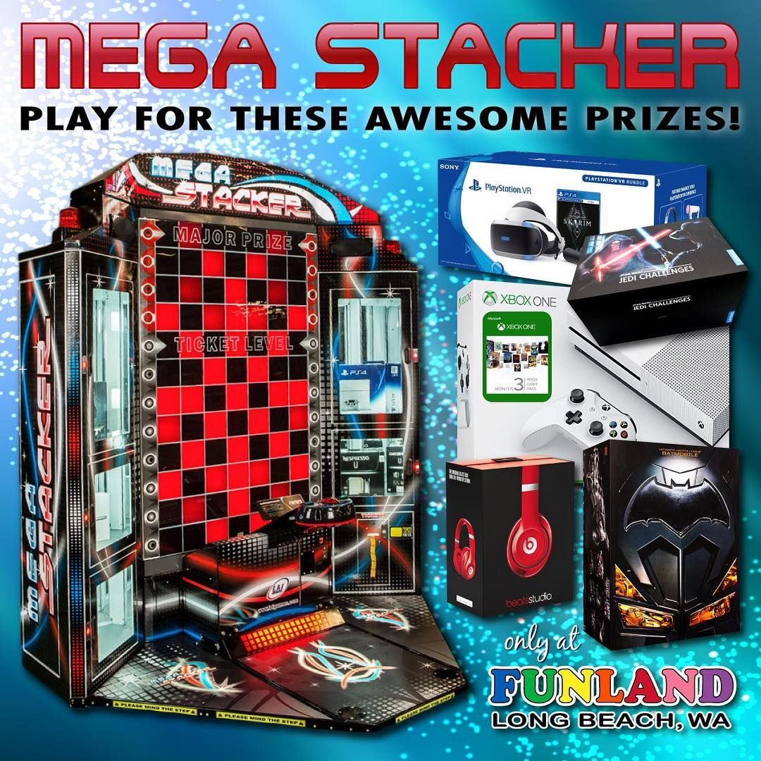 NEW PRIZES in our MEGA STACKER game! Win a XBox One S