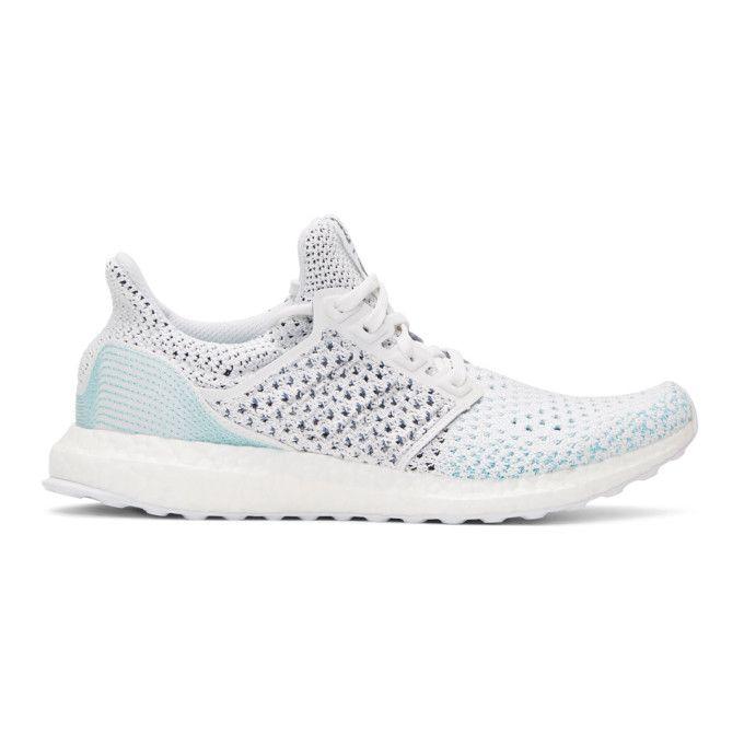 c84fd81e716 ADIDAS ORIGINALS White   Blue UltraBOOST Parley PK Sneakers.   adidasoriginals  shoes