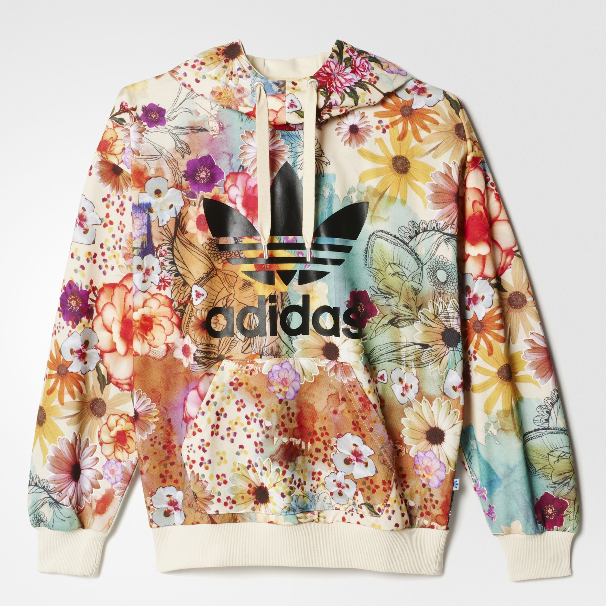 7f84fb6c251 Adidas Originals Trefoil Hoodie x The FARM Company