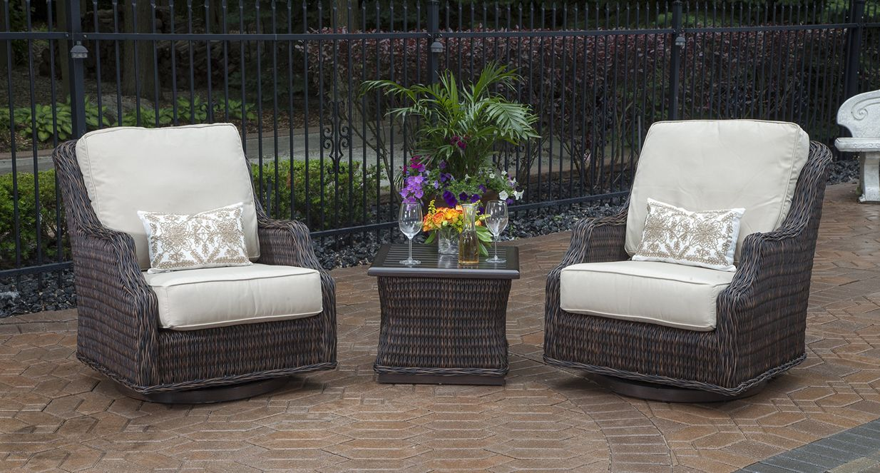 Mila Collection 2Person All Weather Wicker Patio