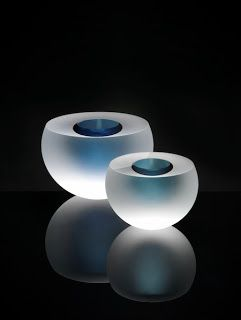 Contemporary glass collection of Anna Torfs
